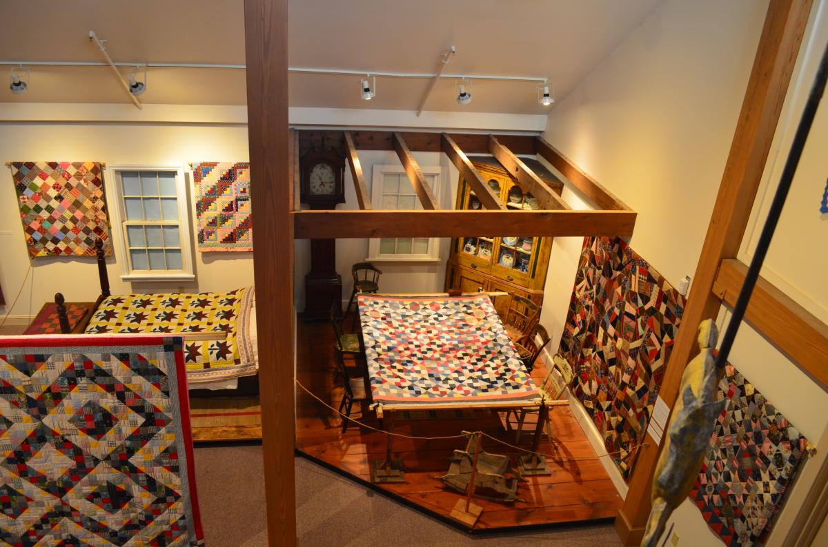 Quilt Display at Mennonite Heritage Center