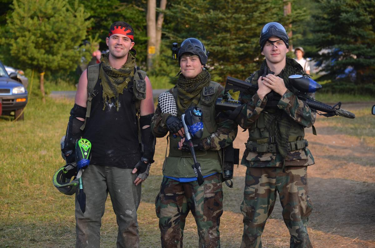 Challenge the Family to a Friendly Game of Pocono Mountains Paintball