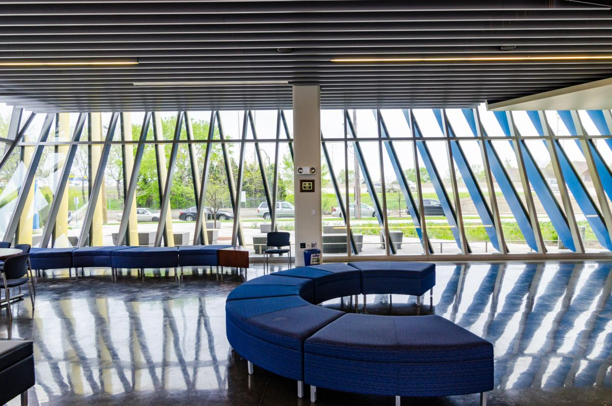 NEIU El Centro interior view, part of Open House Chicago 2017