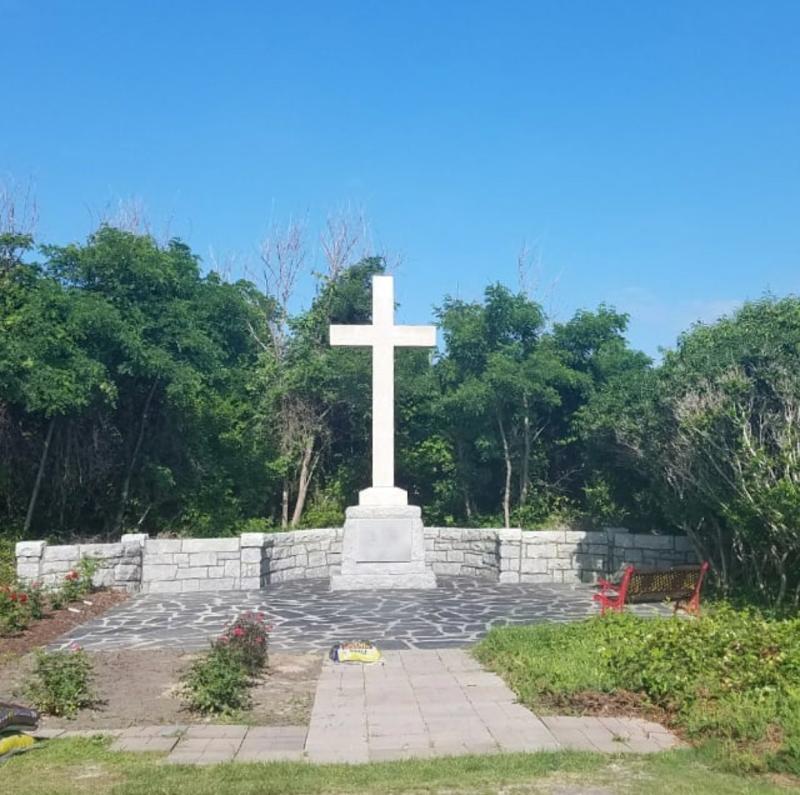 First Landing Cross