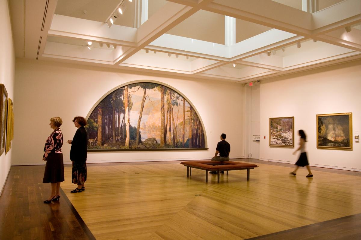 Putnam Gallery at the Michener Museum