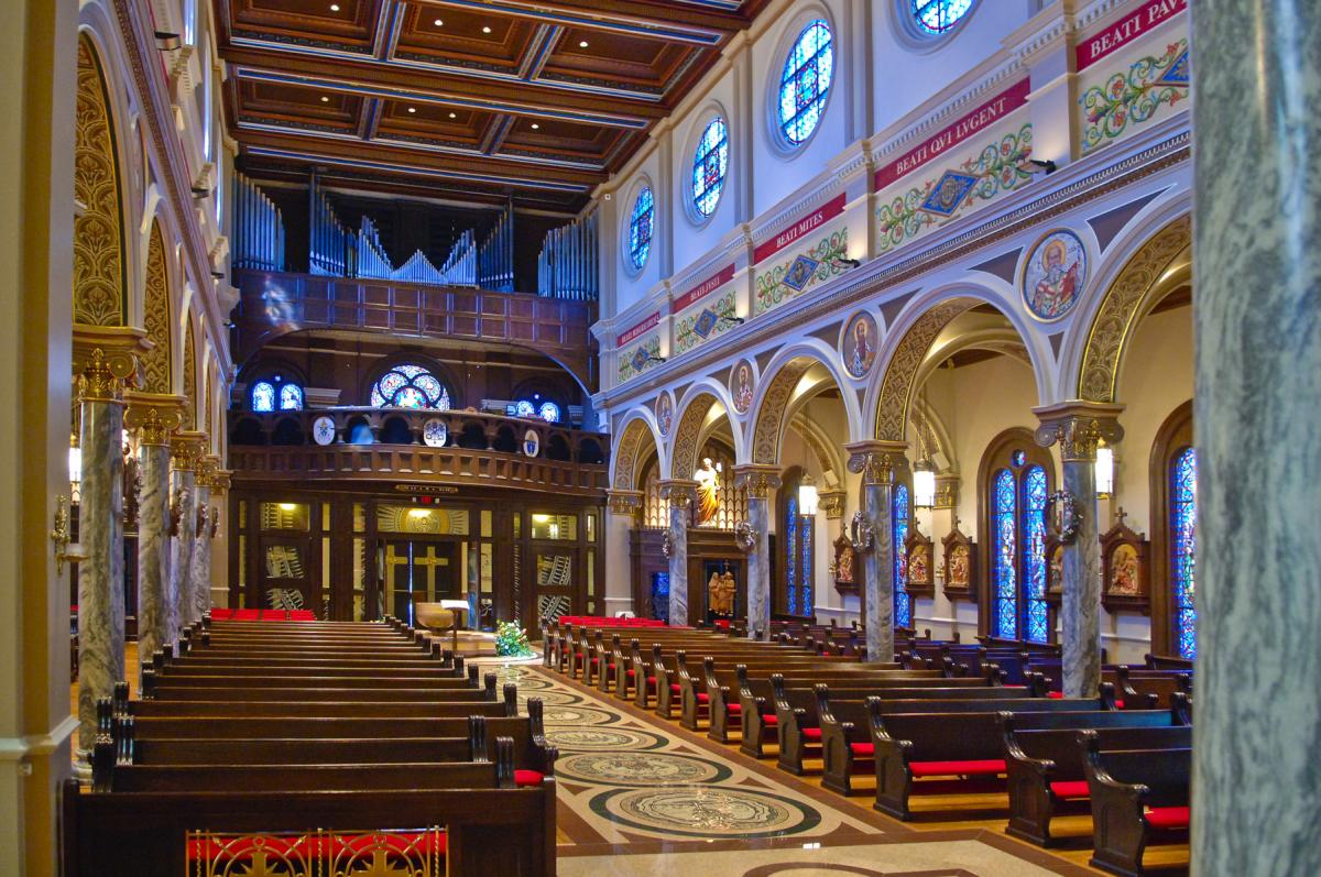 St. Anthony Cathedral Basilica Interior