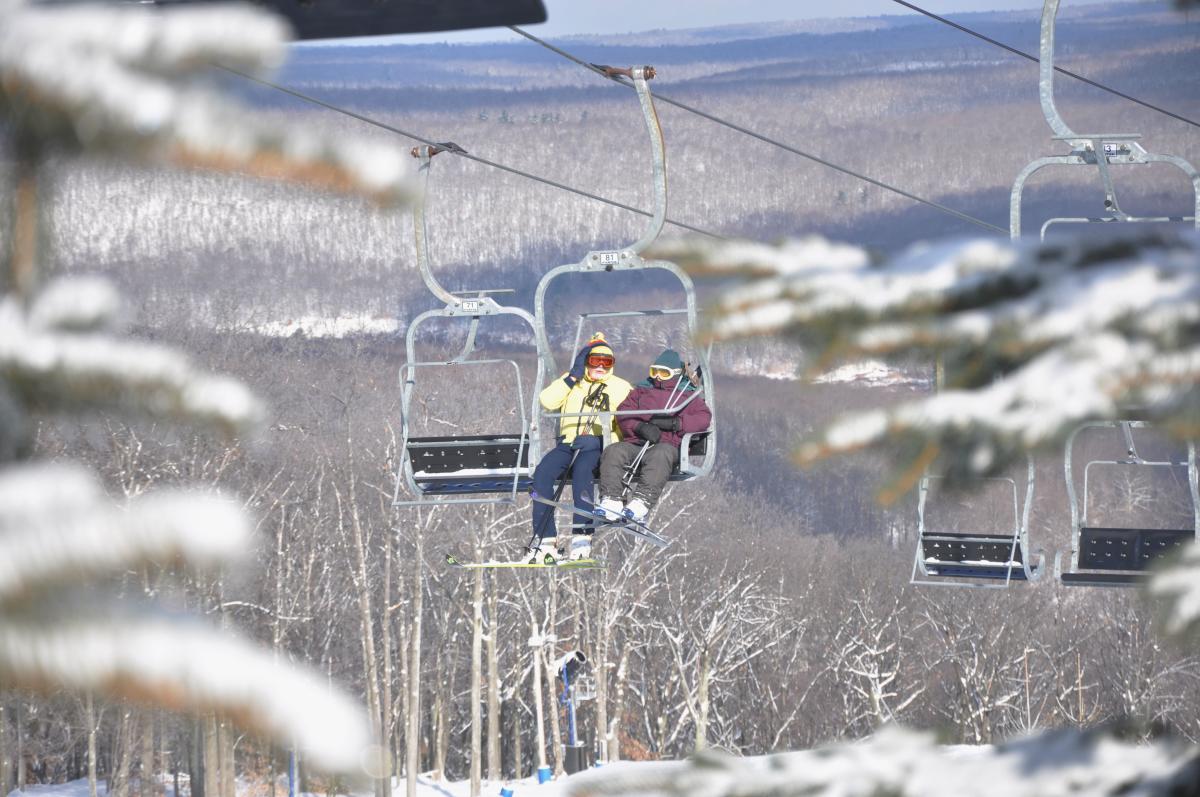 Snow Conditions in the Pocono Mountains