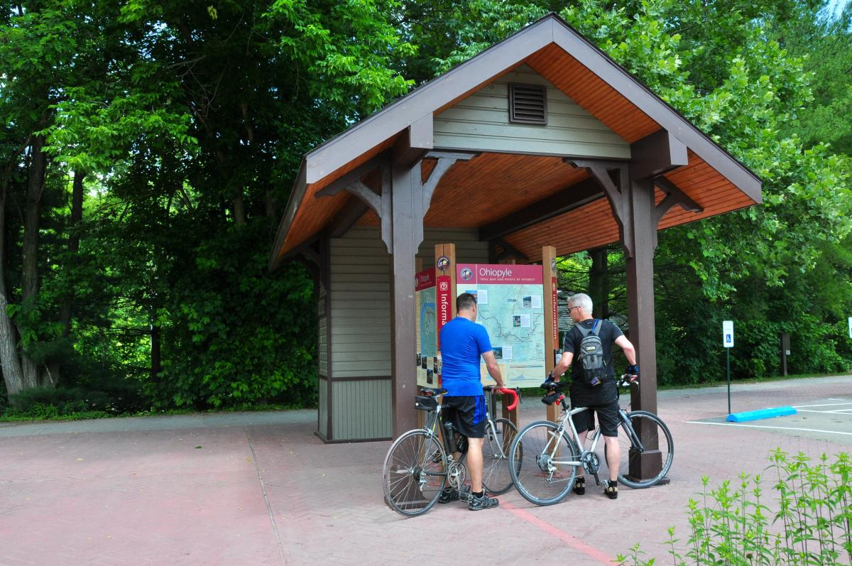 Great Allegheny Passage Trailhead, Ohiopyle