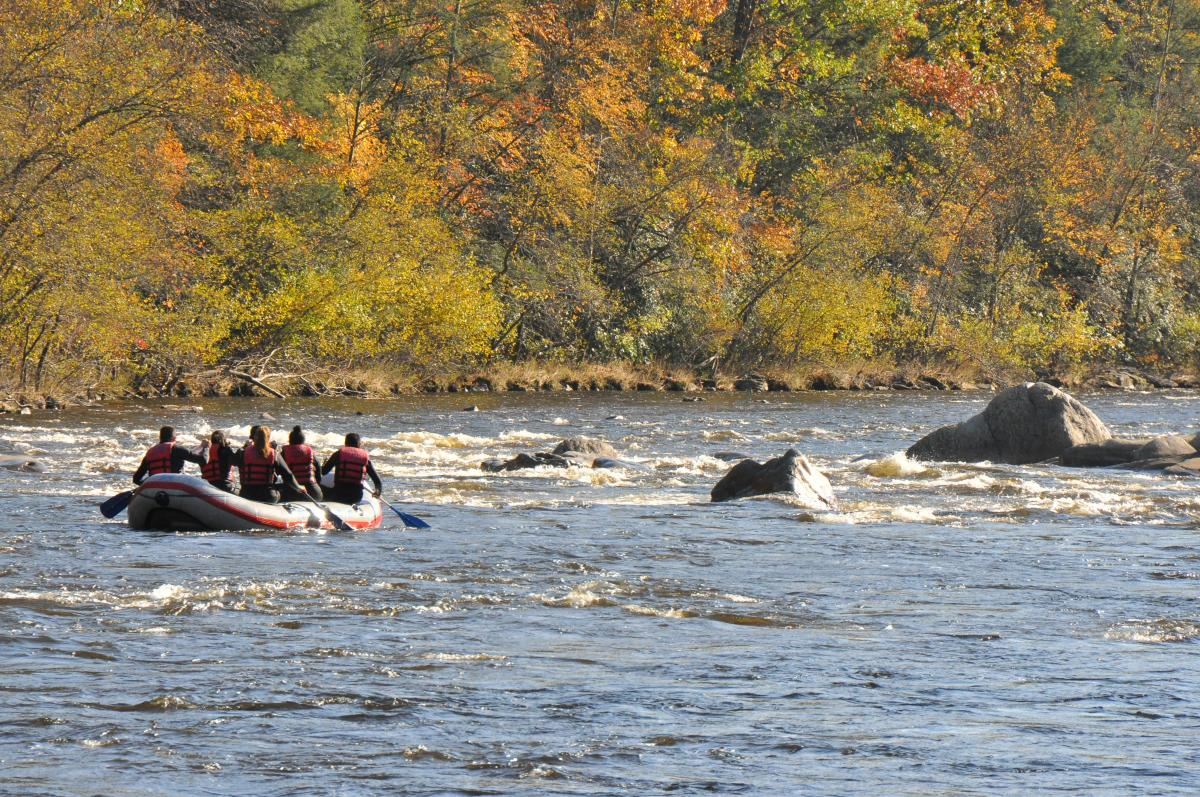 Rafting Fun at Pocono Whitewater in the Pocono Mountains