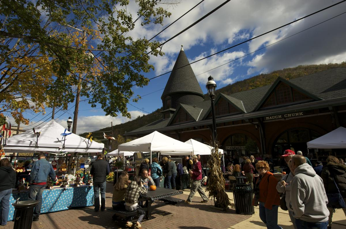 Fall Festivals in the Pocono Mountains
