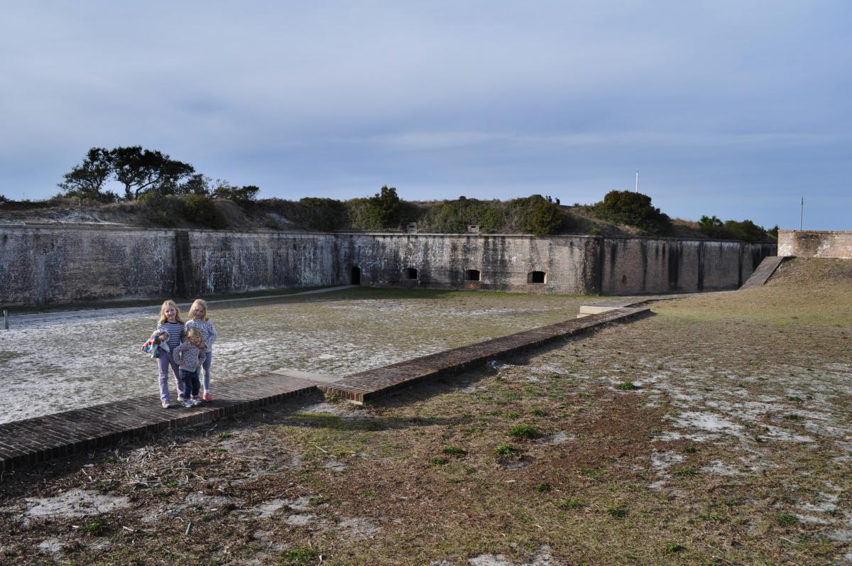 Fort Pickens with kids