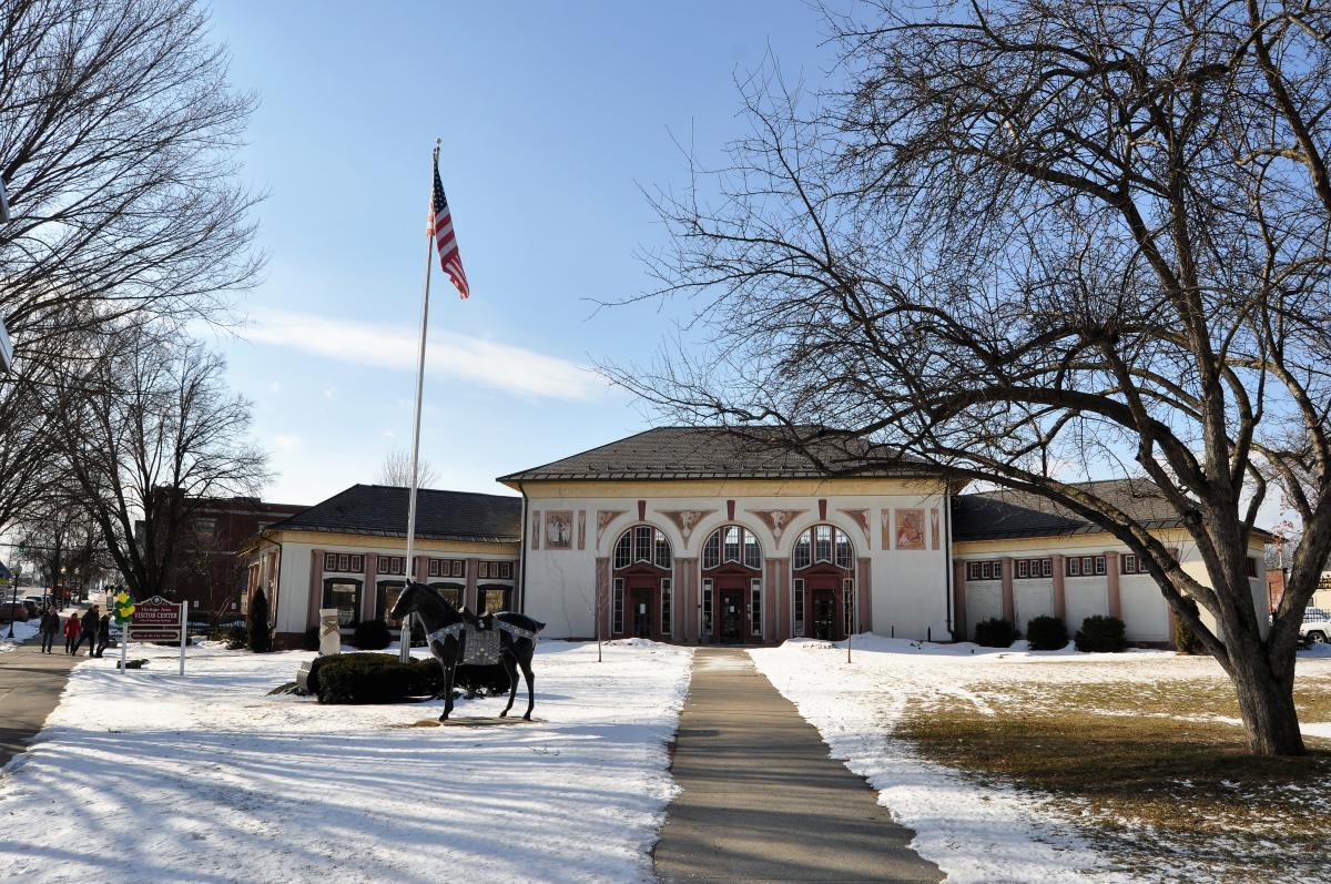 Visitor Center Gail Stein