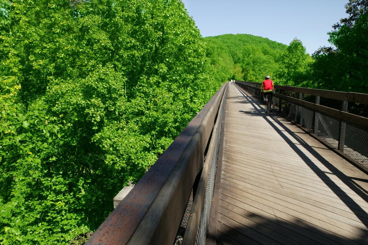 Great Allegheny Passage High Bridge