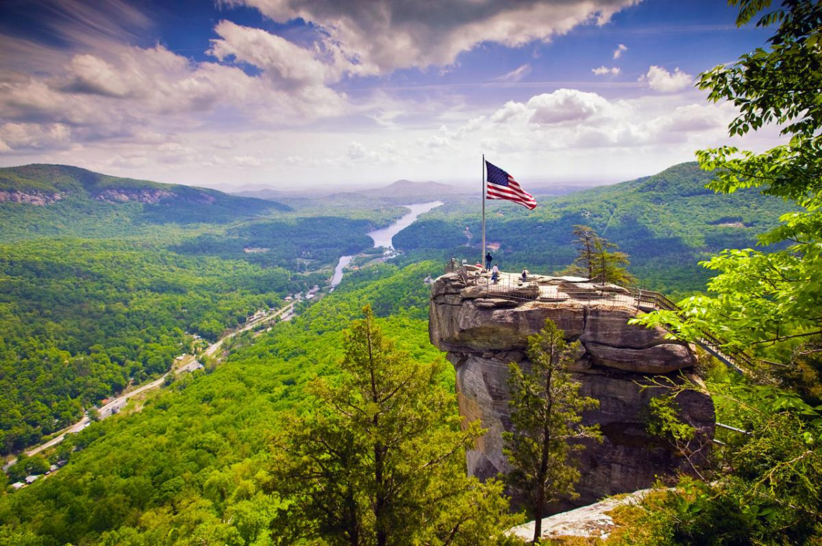 Explore Chimney Rock State Park