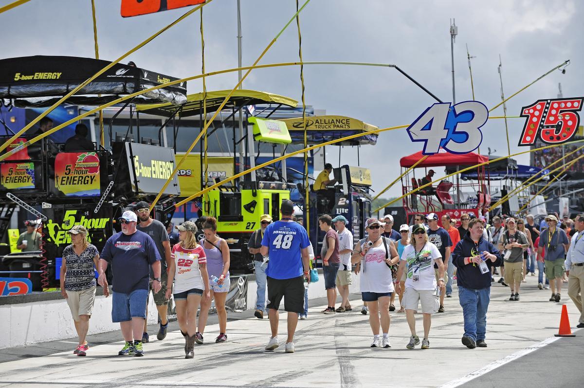 Fan Fair at Pocono Raceway