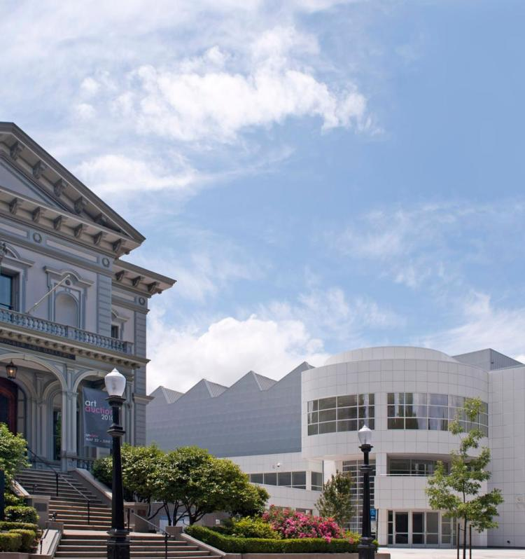 city scene-Crocker Art Museum exterior-Credit Brian Suhr