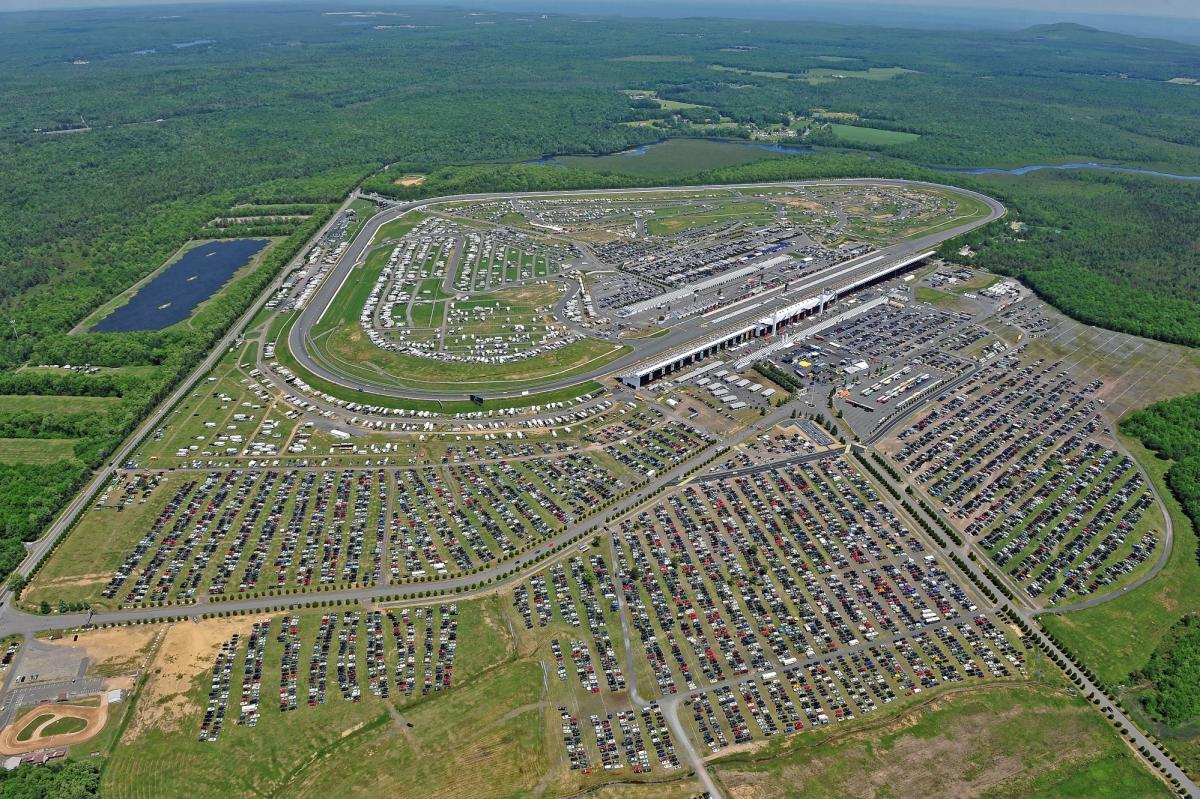 NASCAR in the Pocono Mountains