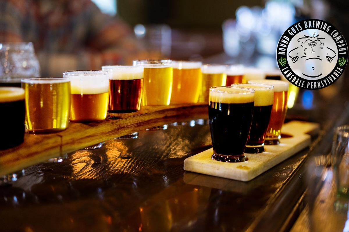 Round Guys Brewing Company Beers
