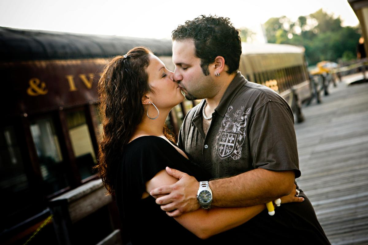 New Hope & Ivyland Railroad Engagement, Devon John Photography