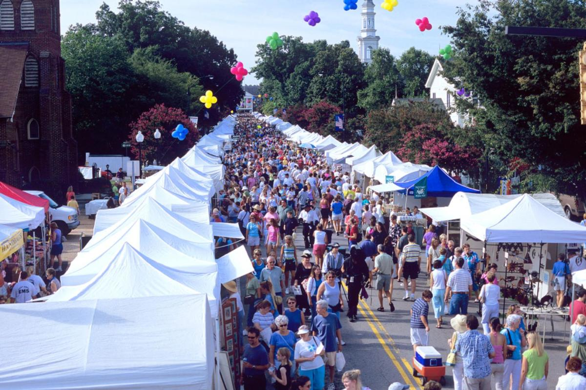 Lazy Daze Arts and Crafts Festival in the Town of Cary