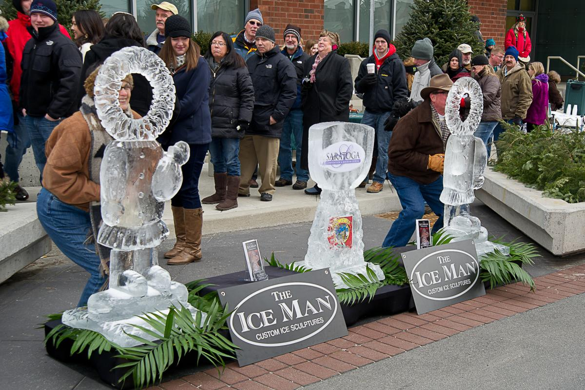 Chowderfest Ice Sculpture