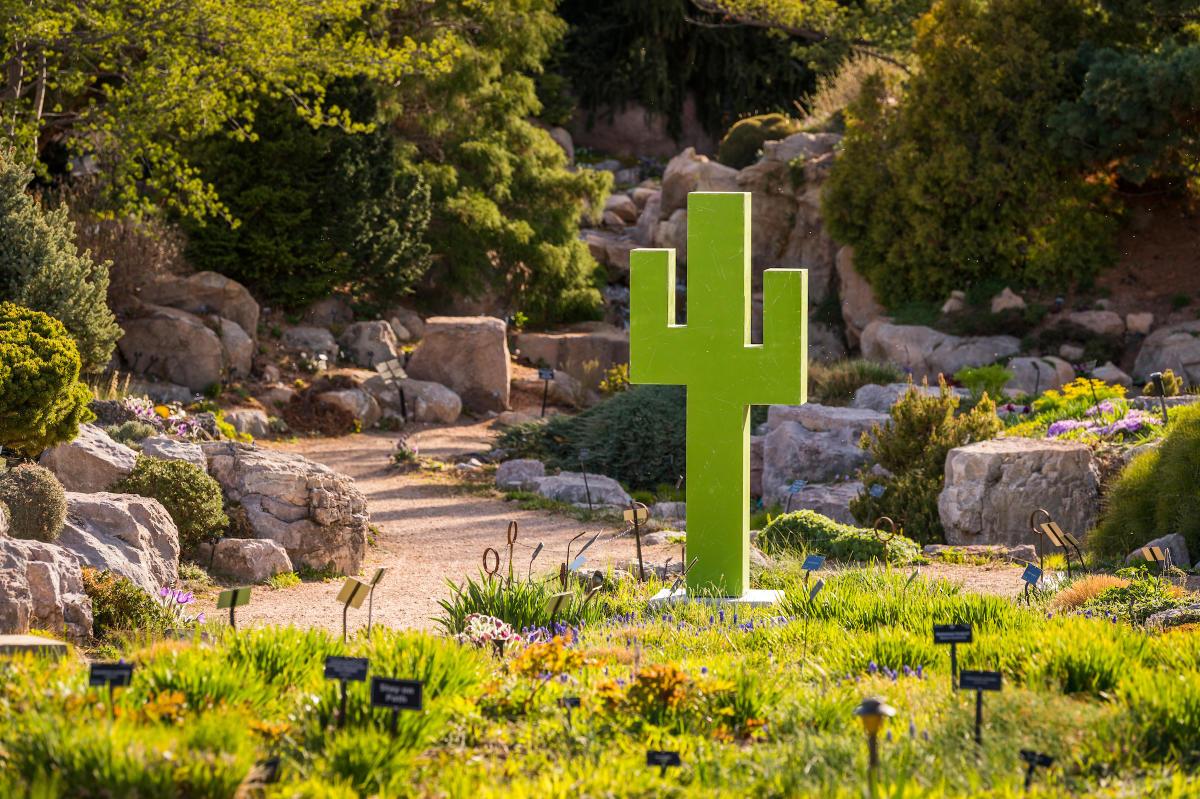Denver Botanic Gardens' Pixelated exhibition