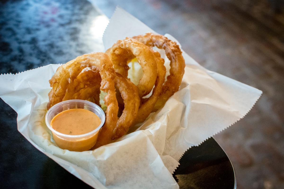 Broaddus Burger Onion Rings