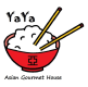 YaYa Asian gourmet logo