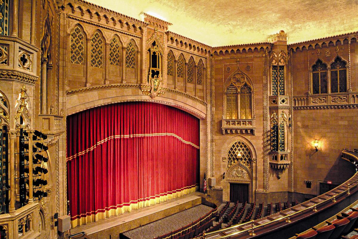 Hershey Theatre Stage