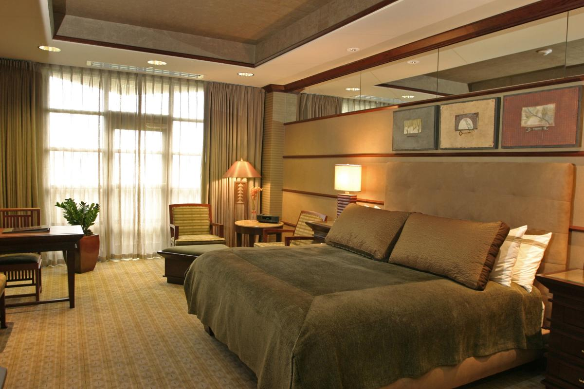 Guest Room at Falling Rock, Nemacolin Woodlands Resort
