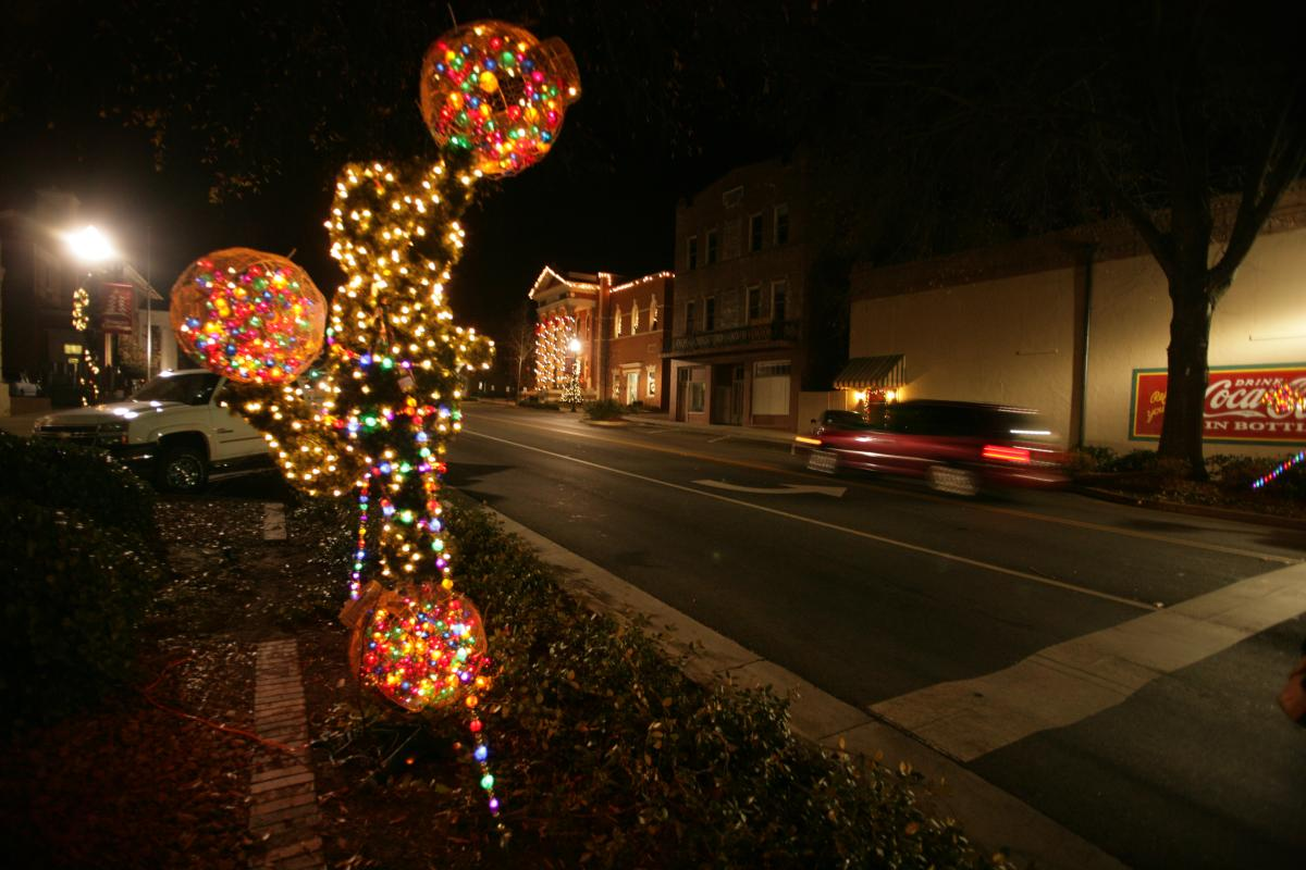Christmas in Downtown Milledgeville