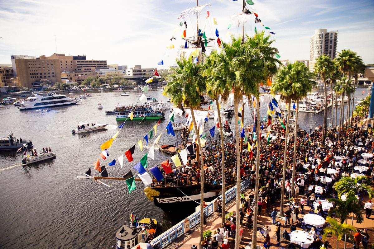 Gasparilla Pirate Boat