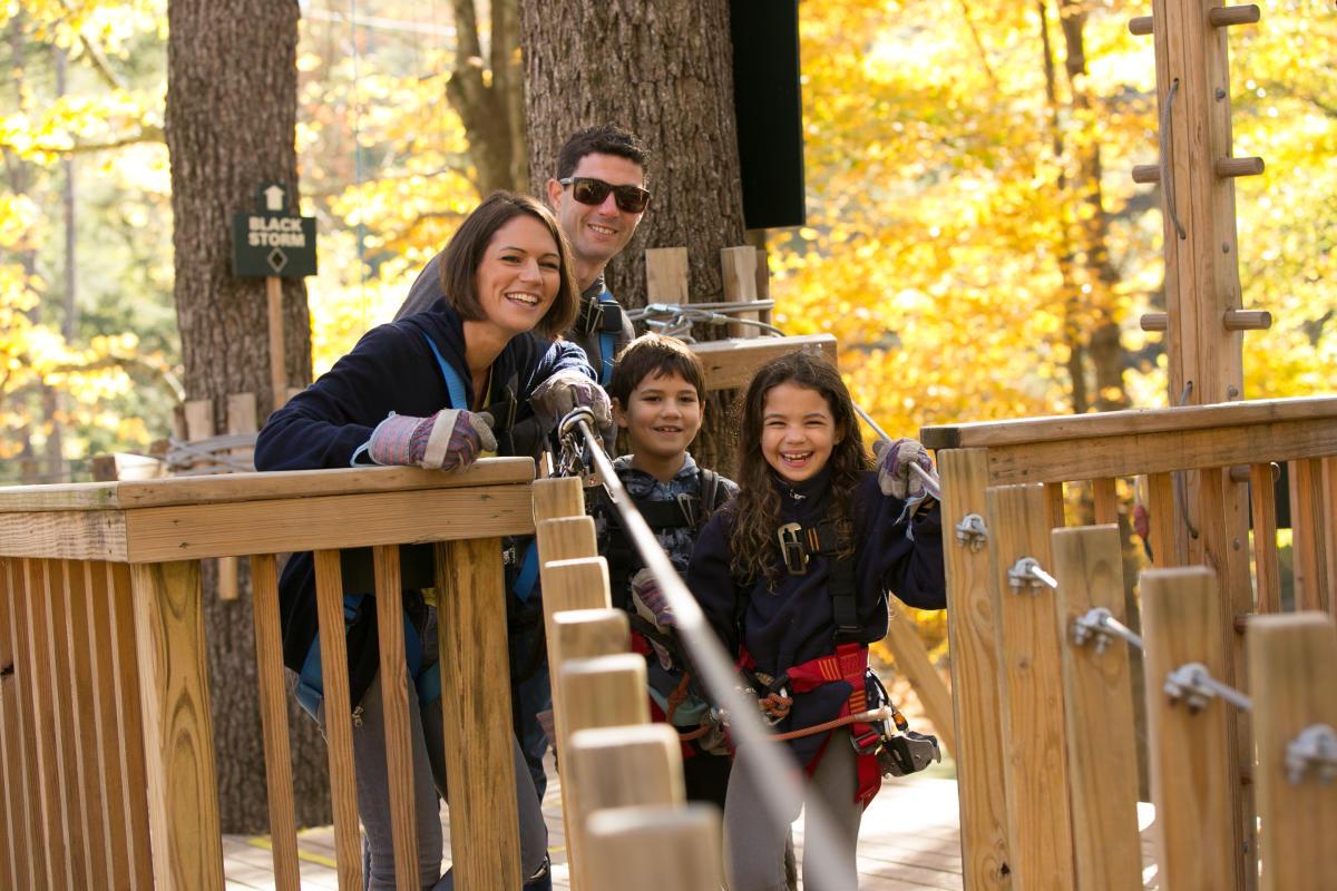 Adventure Park Fun in the Pocono Mountains
