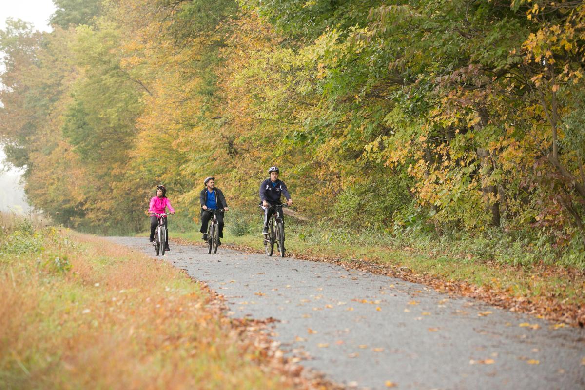 Pocono Mountains Biking Fun