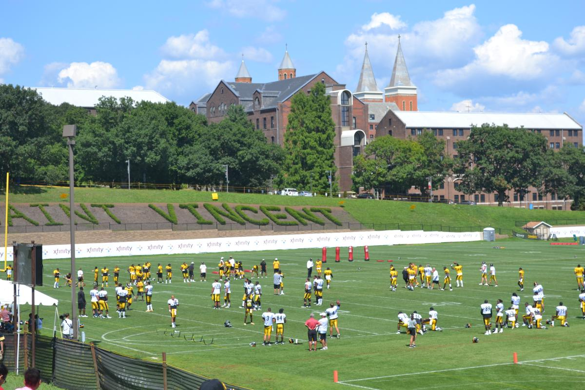 Steelers Training Camp in Laurel Highlands, PA