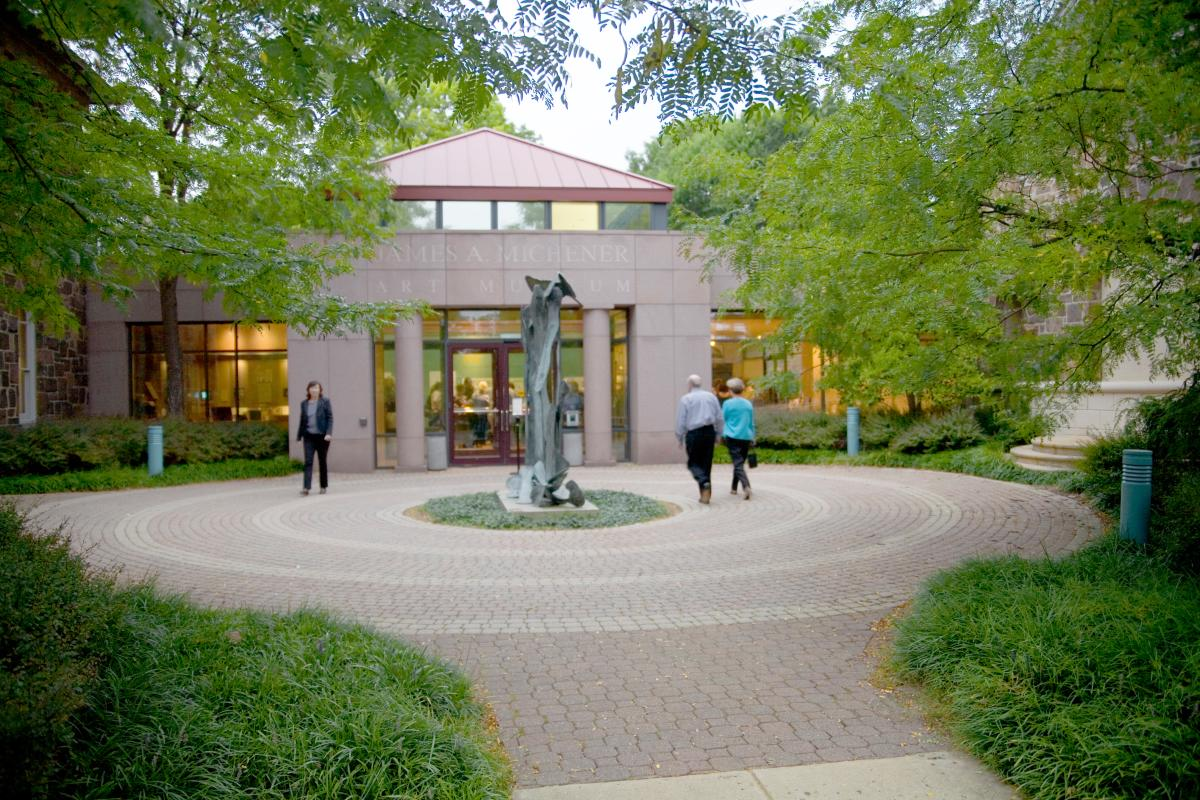 Entrance to the Michener Museum