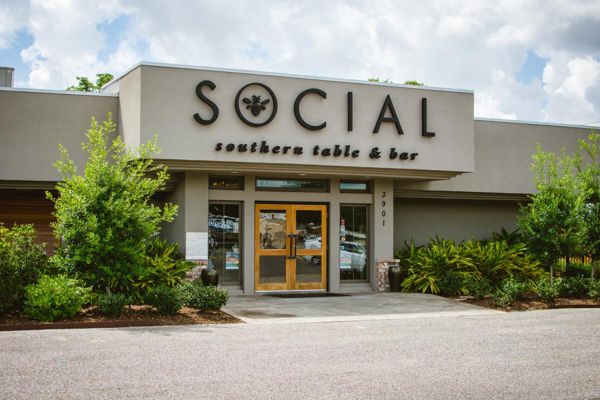 Social Southern Table & Bar Exterior