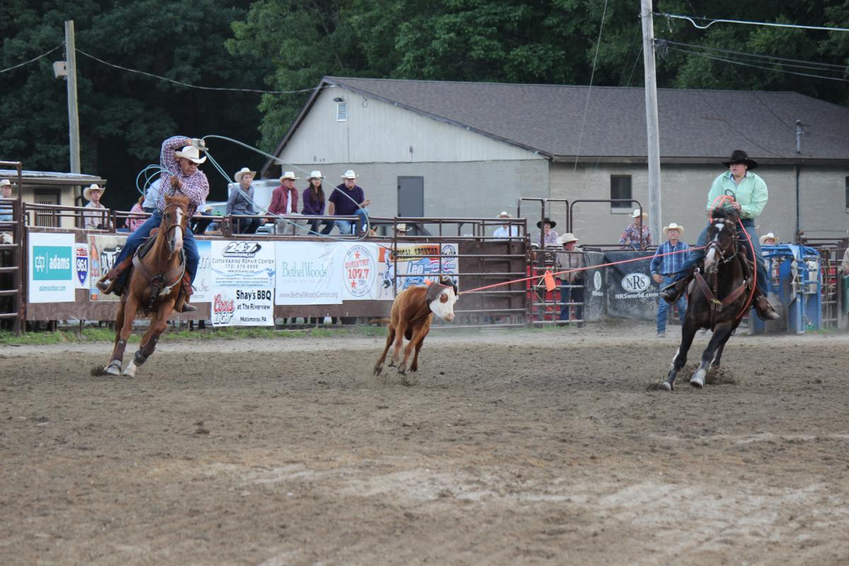 Bring the family to a rodeo at Malibu Dude Ranch