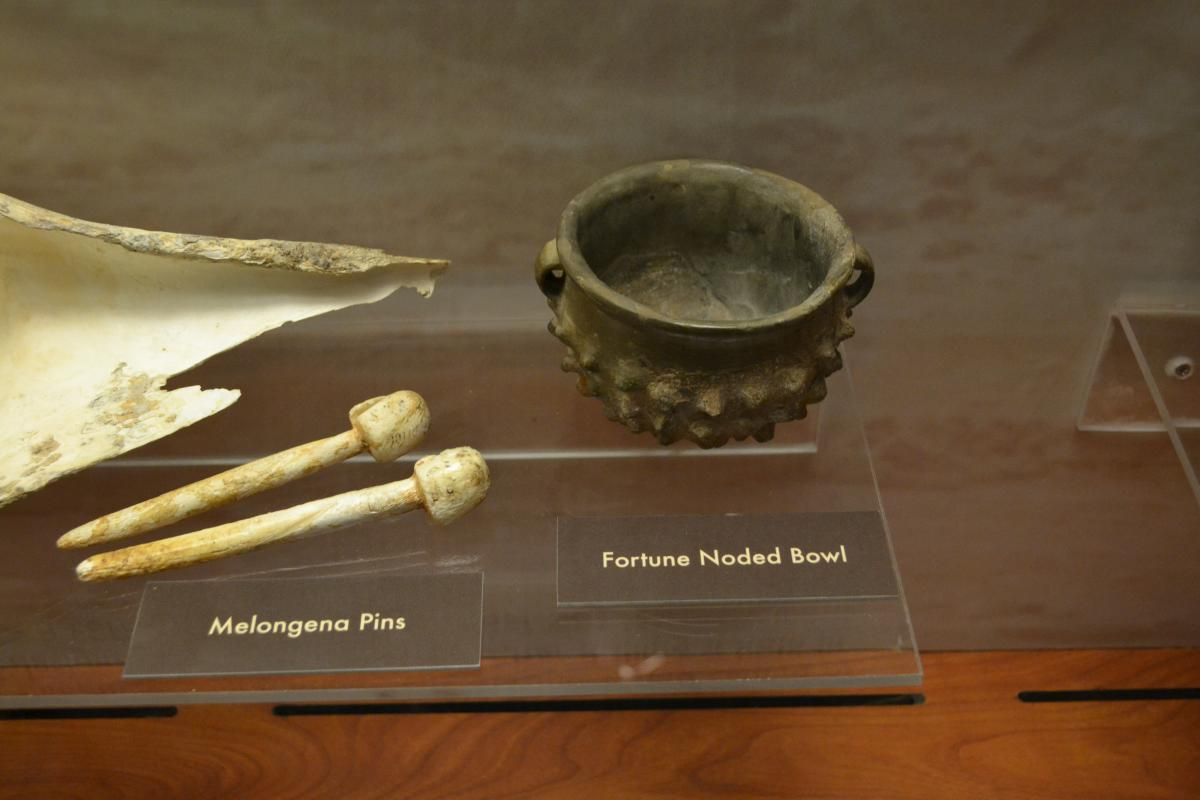 Artifacts from Ocmulgee National Monument