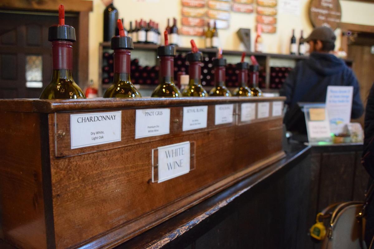 Buckingham Valley Vineyards - bottles