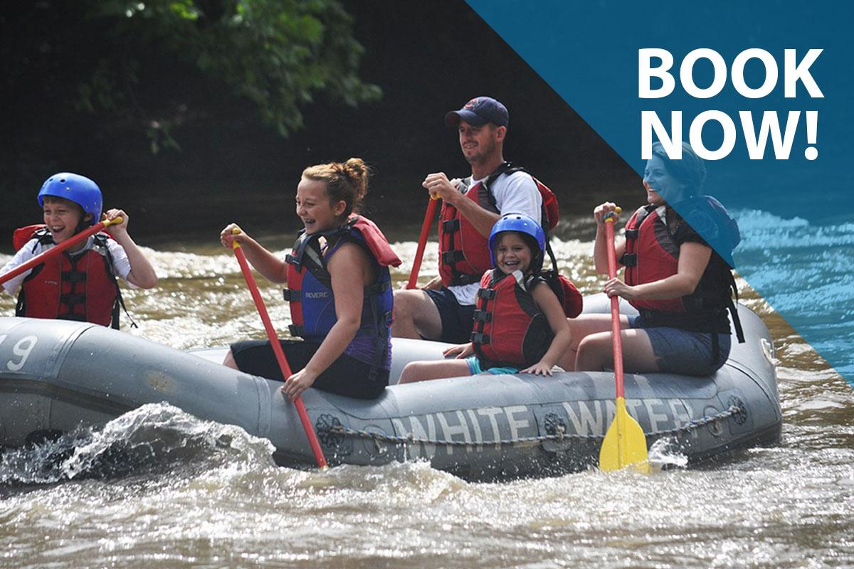 Whitewater Adventurers Book Now