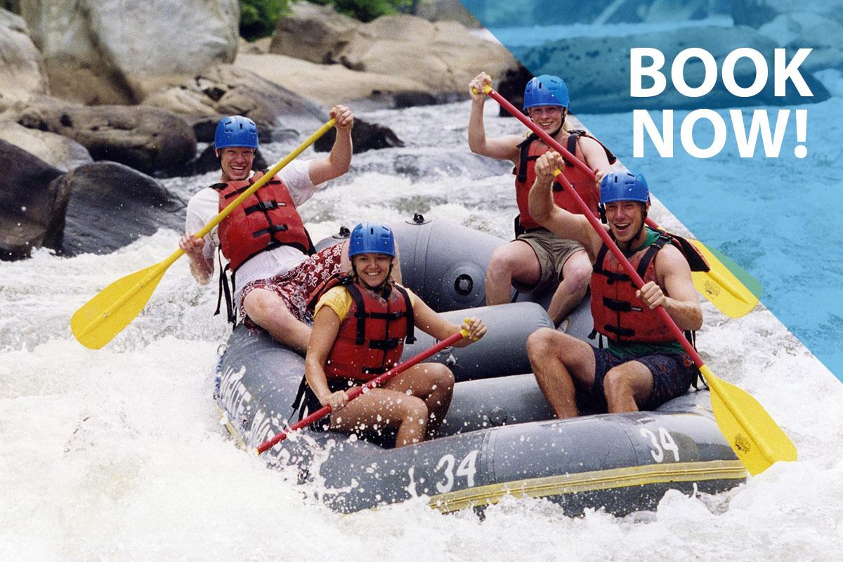 White Water Adventures Book Now