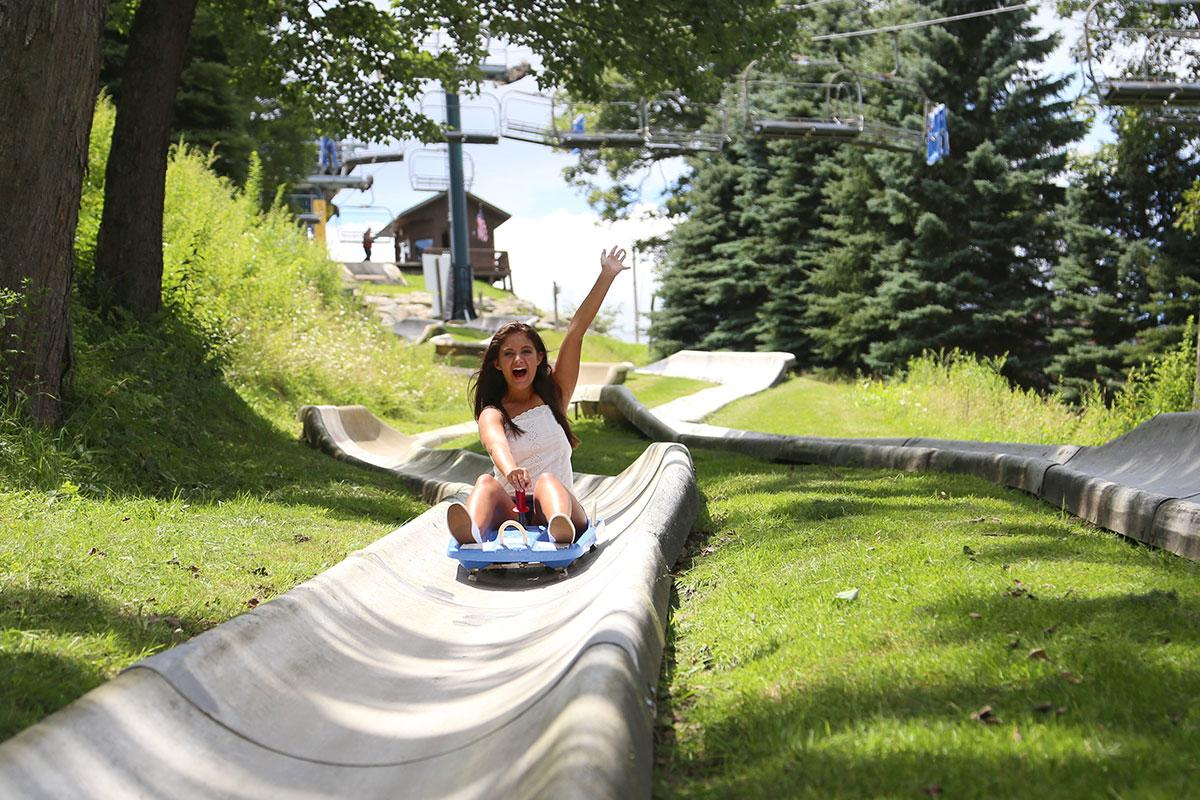 Seven Springs Mountain Resort Alpine Slide