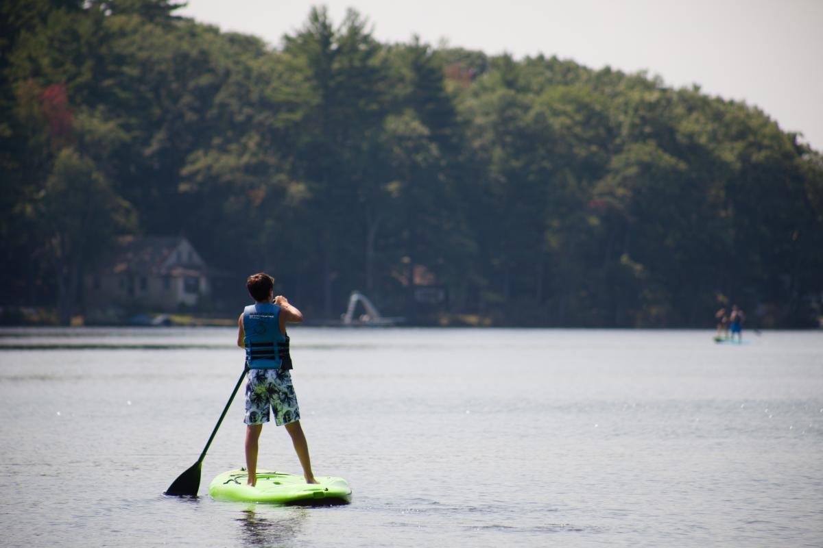 Test Your Balancing Skills While Paddling the Delaware River