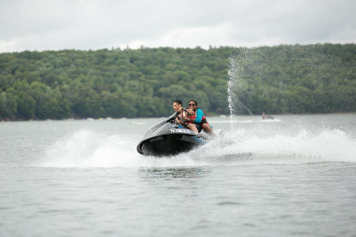 Hit the Open Water and Explore the Pocono Mountains on a Jet Ski