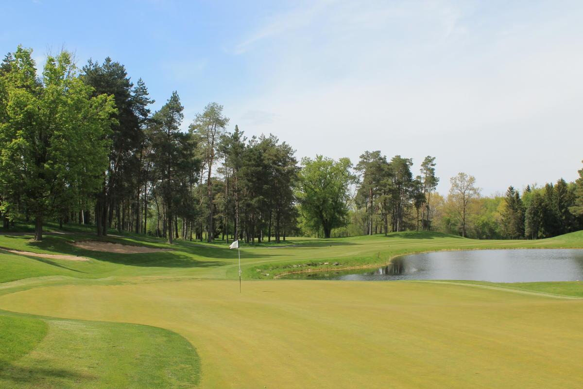 Timber Ridge Golf Hole Number 18