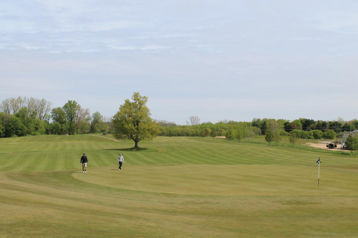 College Fields Golf Hole Number 9