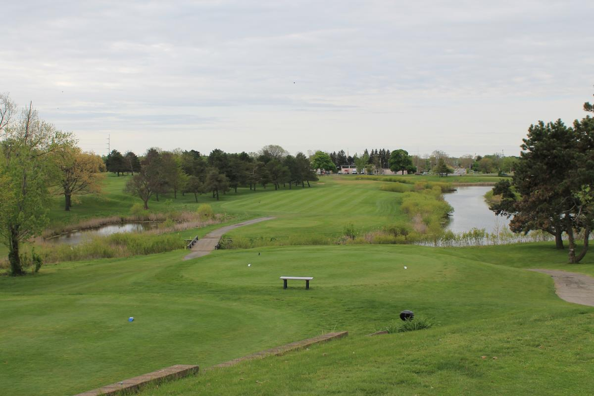 Groesbeck Golf Hole Number 10