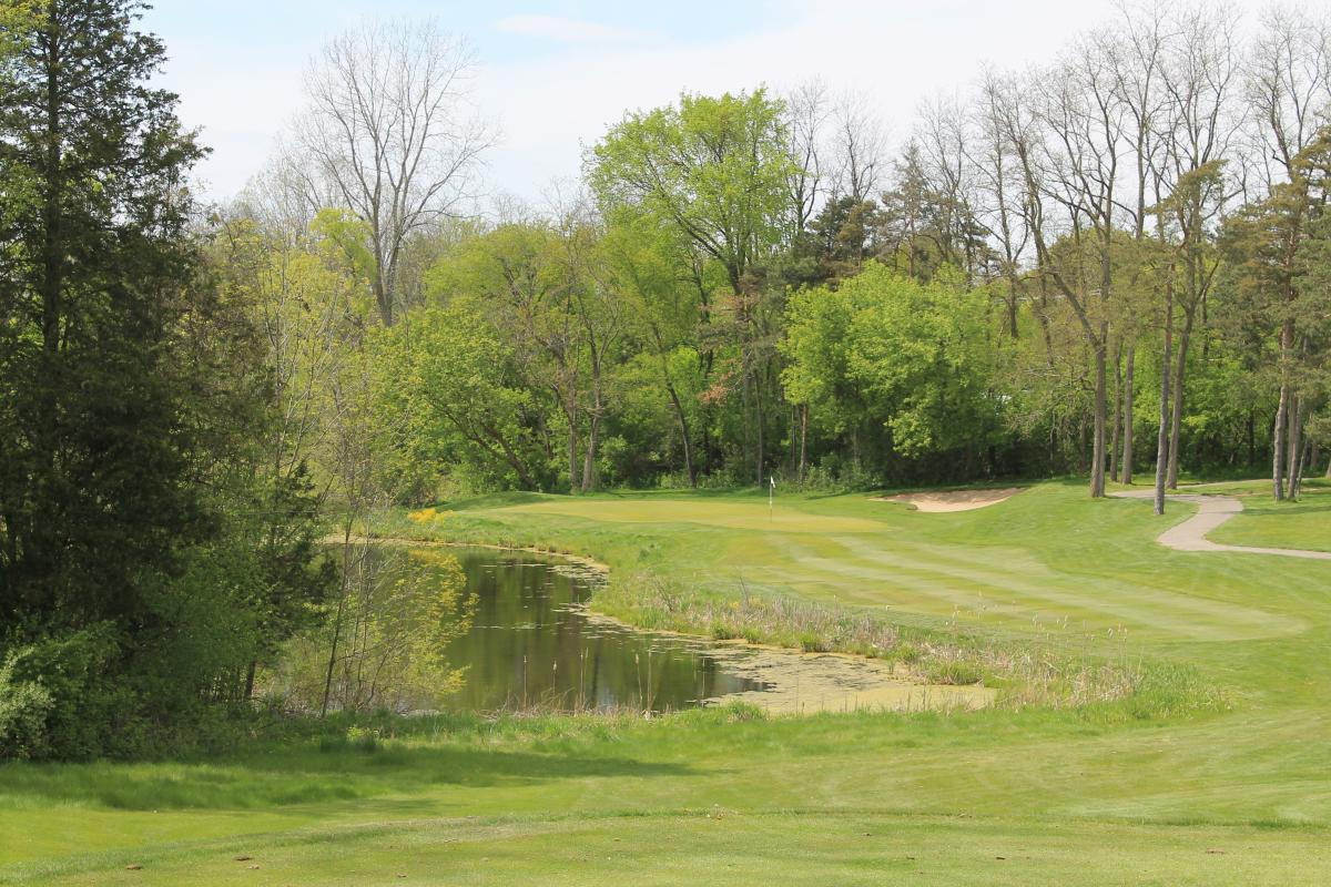 Timber Ridge Golf Hole Number 11