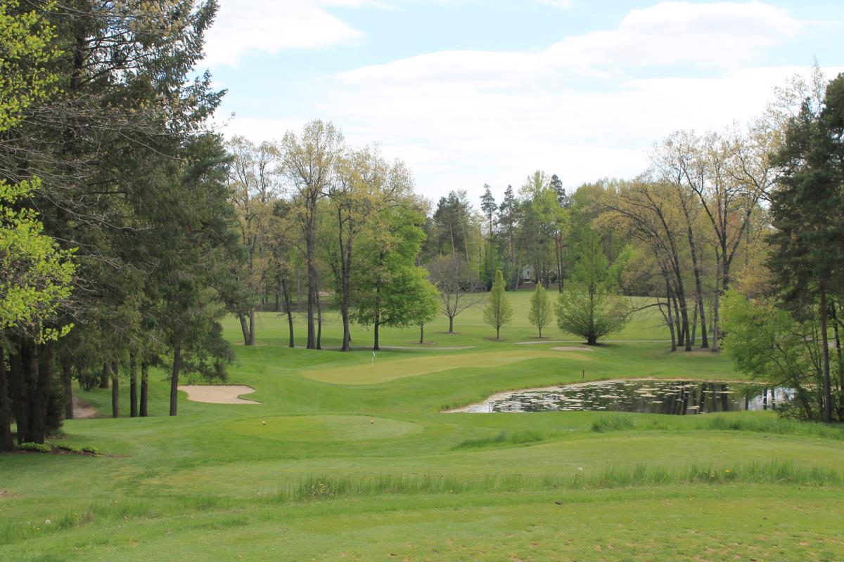 Timber Ridge Golf Hole Number 16