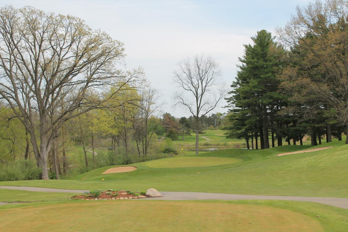 The Emerald Golf Hole Number 8