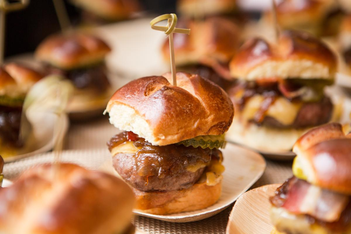 Hamburger Hop at Chicago Gourmet
