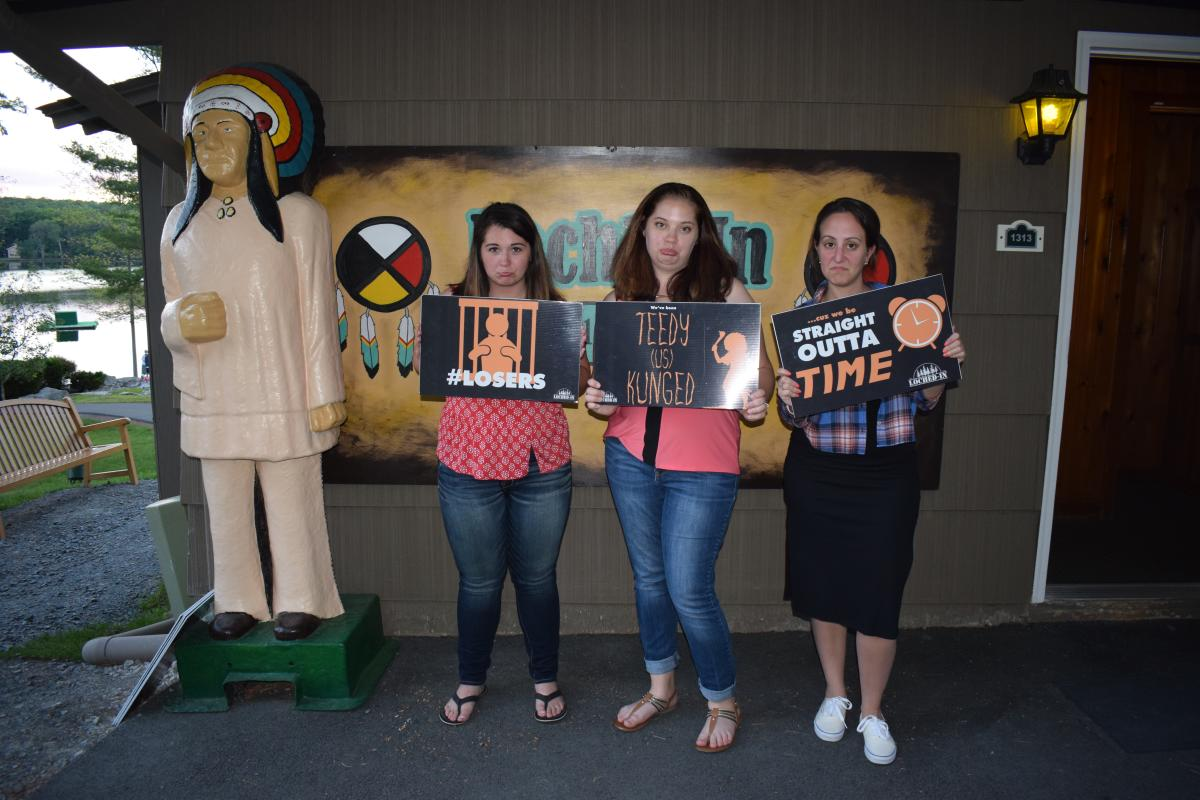 Loch'd-In Escape Room in the Pocono Mountains
