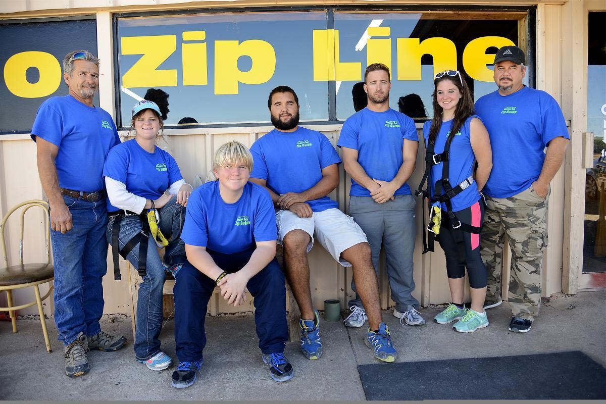 Palo Duro Zip Line Crew